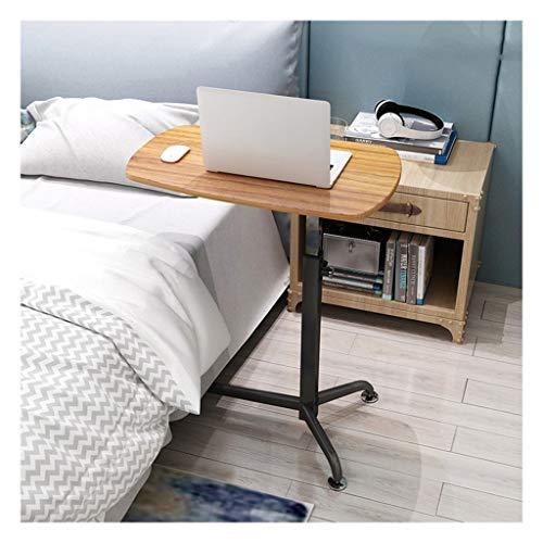 LAA Notebook Tisch Workstation Für Schlafzimmer, Wohnzimmer, Sofa Geeignet Für Alle Arten Von Laptops Und Tablets Nachttisch verstellbar (Color : Oak, Size : 62x38cm)