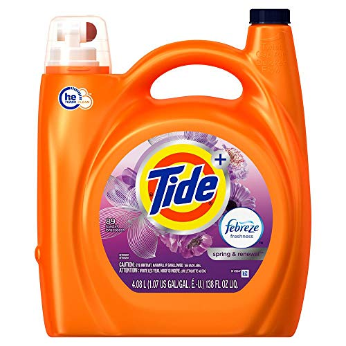 Tide HE with Febreze
