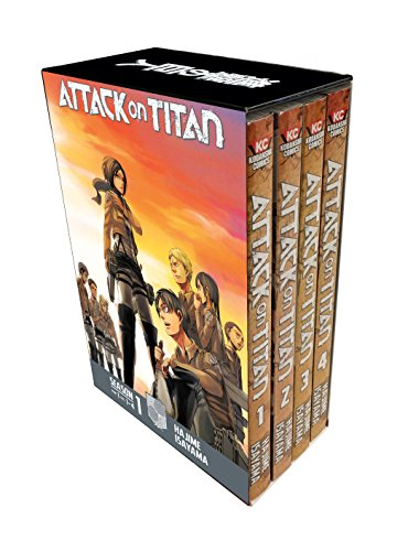 ATTACK ON TITAN SEASON ONE BOX SET PART 01 (Attack on Titan, Season 1)