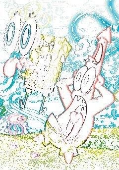 GB Eye Limited 3D-Poster, Motiv Sponge Bob Square Pants – 67 x 47 cm
