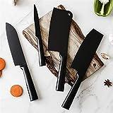 LSZ Kichen Cuchillo Conjunto De 4, Chef de Acero Inoxidable Santoku Utilidad de Cortar el Deshuesado Cleaver Cuchillos, Carne de la Fruta Herramientas de Uso doméstico Vegetal (Color : Santoku Knife)