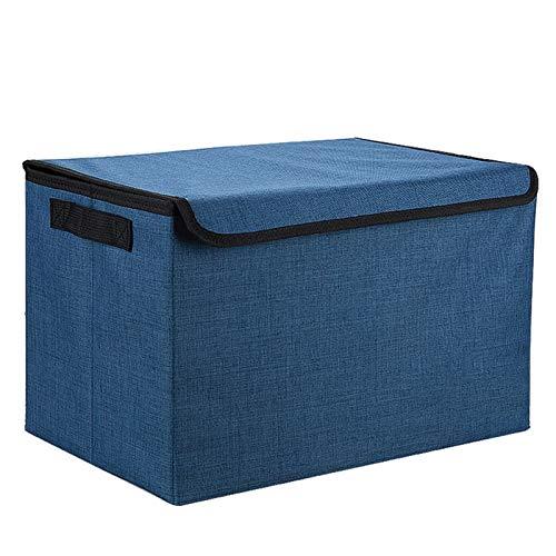 Etrustor Organizador de automóviles, Organizador de Arranque de automóviles, Contenedor de Almacenamiento de Carga Plegable, portátil, Impermeable -Large (Color : Blue)