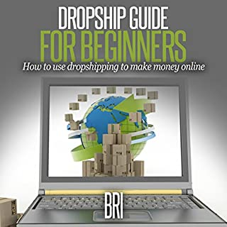 Dropship Guide for Beginners audiobook cover art