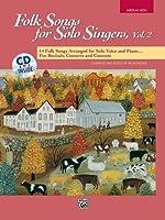Folk Songs for Solo Singers - Voice - Vol. 2 - Bk+CD
