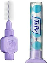 TePe Extra Soft Interdental Brushes Brushes - Purple 1.1 mm - 1 Piece 8 Brushes