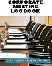 Corporate Meeting Log Book