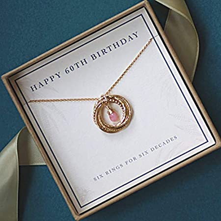 Simply Elegant Necklace Is A Stylish Way To Celebrate Moms 60th Birthday