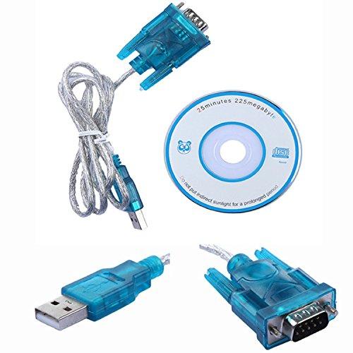 Demarkt USB Cable a Serie DB9 Rs232 Rs-232 Adaptador Conversor Convertidor +Drivers 2182