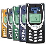 Stuff4 Coque Gel TPU de Coque pour Samsung Galaxy Note 9/N960 / Nokia 3310 Multipack/Portables rétro