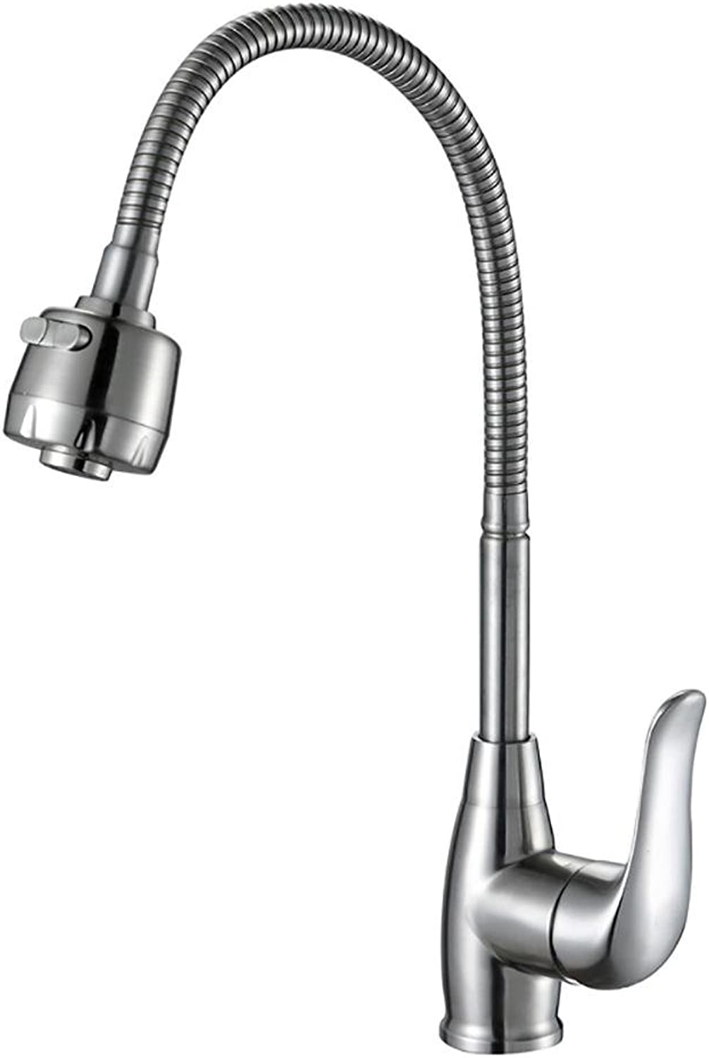 SHUILTOU 304 Stainless Steel Kitchen Faucet hot and Cold Drawing can be redated