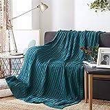 WWSUNNY Manta de sofá Mantas para Cama, 2 tamaños y 12 Colores, adecuadas para su hogar, sofá, bebé, automóvil, Hotel, Viajes, Regalos. Disponible en Todas Las Estaciones-Verde(120cm*180cm)