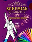 Bohemian Rhapsody Coloring Book: Premium Coloring Book With High Quality Images Inside