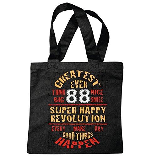 sac à bandoulière SUPER BONNE REVOLUTION LIFESTYLE FASHION STREETWEAR HIPHOP SALSA LEGENDARY Sac école Turnbeutel en noir