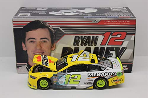 Lionel Racing, Ryan Blaney, Pennzoil/ Menards, 2018, Ford Fusion, NASCAR Diecast 1:24 Scale