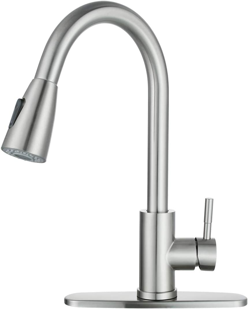 Wowow Stainless Steel Kitchen Faucet  $28.79 Coupon