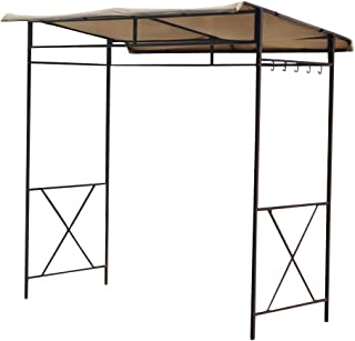 Garden Winds LCM1135B-RS Avon BBQ Shelter RipLock 350 Replacement Canopy, Beige
