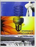 Energías renovables. Lo que hay que saber (Economia (paraninfo))