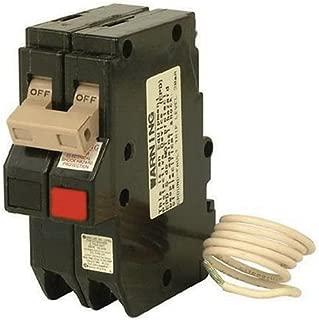 Eaton CH220GFT Plug-On Mount Type CH Ground Fault Circuit Breaker 2-Pole 20 Amp 120/240 Volt AC