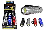 Diamond Visions Max Force 08-1691 COB LED Flashlight in Assorted Colors (1 Flashlight)