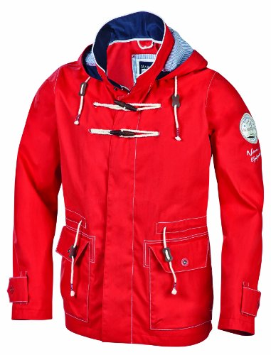 Marinepool, Giacca da Outdoor UomoFelano, Rosso (Red), S