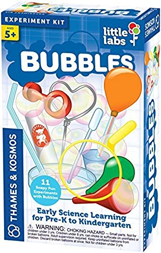 alta calidad general Thames and Kosmos Little Labs Bubbles Bubbles Bubbles Science Kit by Thames & Kosmos  marca de lujo