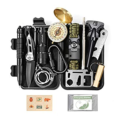 Stocking Stuffers Gifts for Teens Boys - Cool Unique Gadget Christmas Gifts Ideas for Men Him Boyfriend - Survival Kit Gear for Fishing Hunting Camping Hiking by