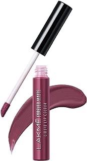 Lakme Forever Matte Liquid Lip Colour, Mauve Ecstasy, 5.6 ml
