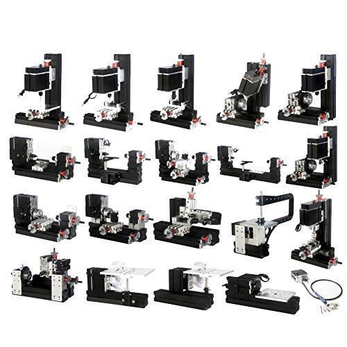 Buy Bargain Mini Lathe, US Plug 100-240V 12000 RPM Durable Combination Machine Tool Bow-Arm Mini Lat...