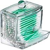 Kryllic Dispensador de Almohadillas de algodón Qtip - Caja para Accesorios de...