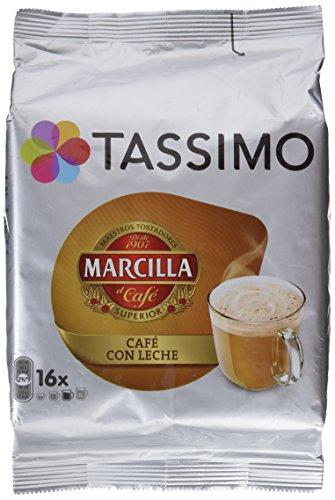 Tassimo Café Marcilla Café con Leche - 16 Cápsulas