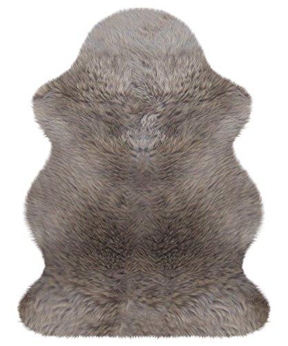 Heitmann australisches Lammfell 100 x 68 cm, Farbe Taupe