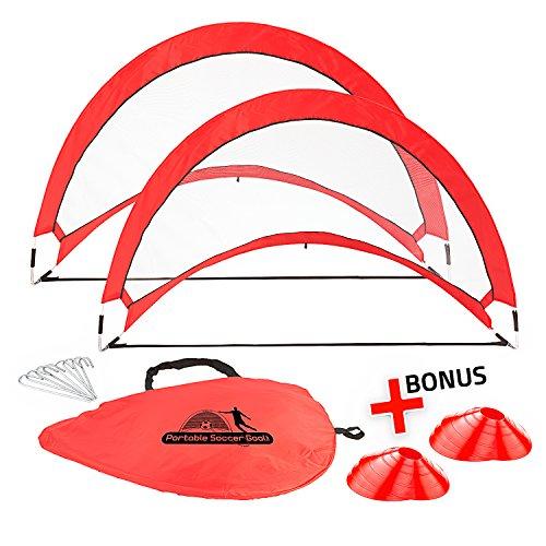 Abco Tech Portable Soccer Goal Set