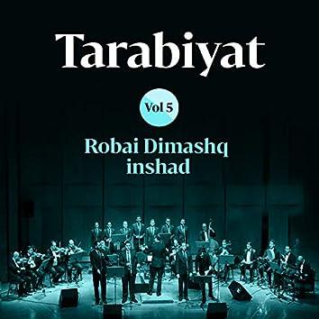 Tarabiyat, Vol. 5 (Chants Soufis)
