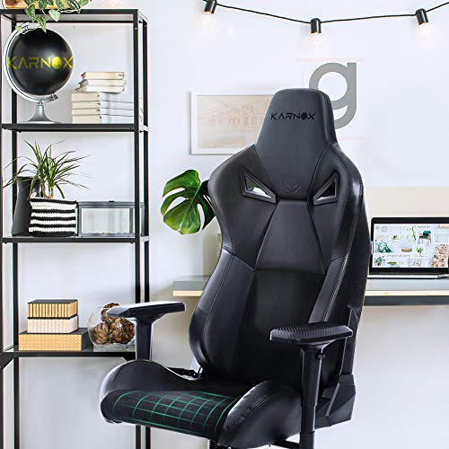 KARNOX Legend-BK New Gaming Chair with 155º Recline Racing...