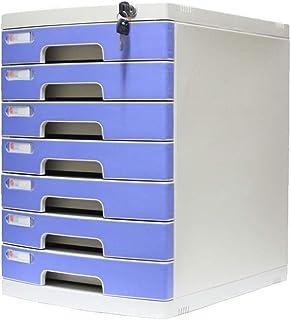 KANJJ-YU Tiroir de bureau Sorter verrouillables Bureau de stockage des données confidentialité Tiroir PC de bureau Organis...