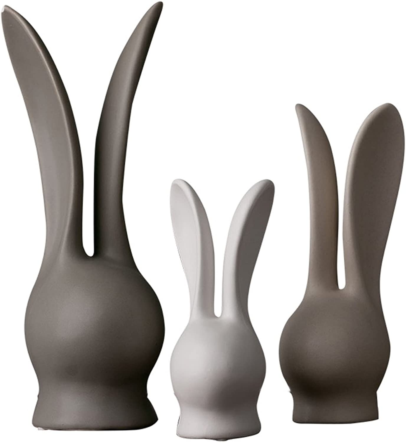 Modern ceramics rabbit Home decorations Wine cabinet indoor living room coffee table TV cabinet office desk Wedding Gifts