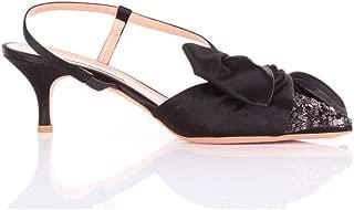 POKEMAOKE Luxury Fashion Womens PORFIRIANERO Black Sandals | Season Outlet