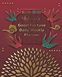 2020-2022 Oscar's Good Fortune Daily Weekly Planner: A Personalized Lucky Three Year Planner With Motivational Quotes