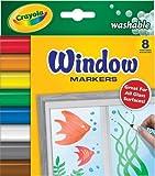 Crayola Washable Window FX Marker MARKER,WINDOWFX,WSHBL,8ST (Pack of20)