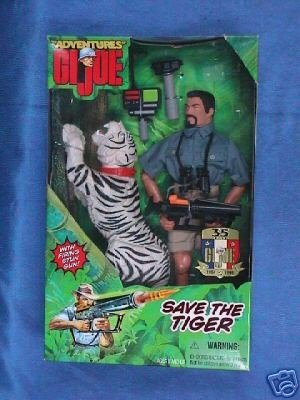 "G.I. Joe 12 Save The Tiger Action Figure - Adventure Team"" [Toy]"