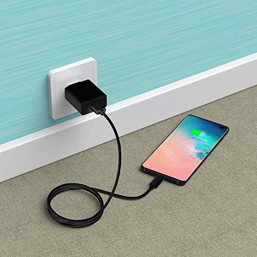 Slabo Ladekabel USB Typ C für iPad Pro 11 (2018-2020)   iPad Pro 12,9 (2018-2020) Datenkabel Verbindungskabel Sync-Kabel - SCHWARZ