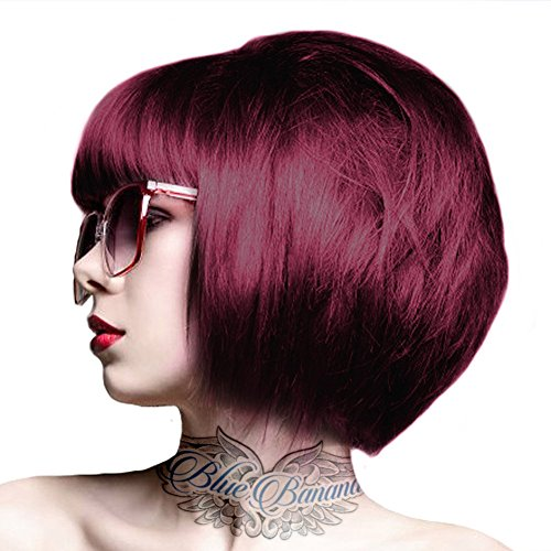 2 x Crazy Color Semi Permanent Hair Colour Dyes by Renbow 100ml Burgundy 61
