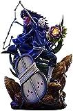 Mopoq Naruto Anime Figuras Uchiha Madara Tobi modelo de caracteres Decoración de la muñeca Estatua de figuras coleccionables Rol Juguetes 40CM