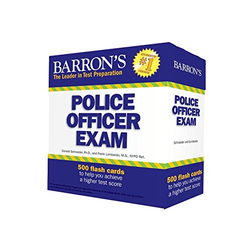 Police Officer Exam Flash Cards (Barron's Test Prep)