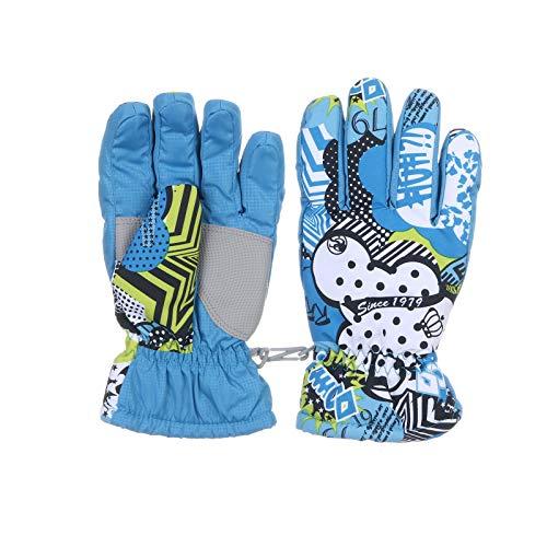 SommerCat Winterhandschuhe für Kinder Handschuhe Warme Skihandschuhe wasserdichte und Winddichte Verdickt Winterzeit Handschuhe Geeignet für Jungen und Mädchen im Outdoor Sport