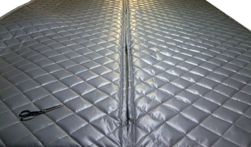 Singer Safety Double Faced Quilted Fiberglass Panel, 4' Width x 8' Height x 2' Thick