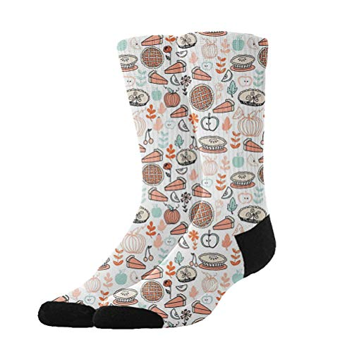 Jinkela - Calcetines para Hombre y Mujer, Calcetines para Hornear, Calcetines Calientes y Calcetines Largos