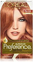 L'Oreal Superior Preference - 7LA Lightest Auburn (Warmer) 1 EA - Buy Packs and SAVE (Pack of 2)