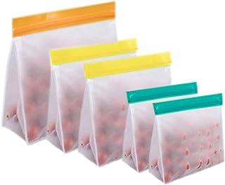 XIN NA RUI Sac Congelation Reutilisable Sacs de congélateur réutilisables Sacs de Stockage de Nourriture Sacs de Stockage ...