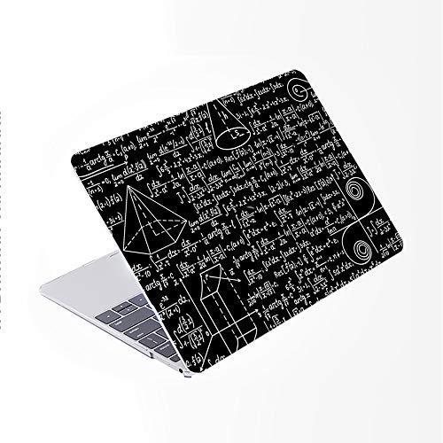 SDH Newest MacBook Pro 13 inch Case 2020 Release Touch Bar & ID Model: A2289 / A2251, Plastic Pattern Hard Shell & Laptop Sleeve Bag & Keyboard Cover Skin 4 in 1 Bundle, Blackboard Book 8